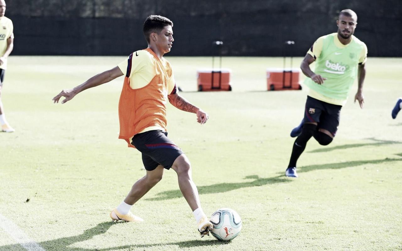 Nuevo entrenamiento en la Ciutat Esportiva Joan Gamper