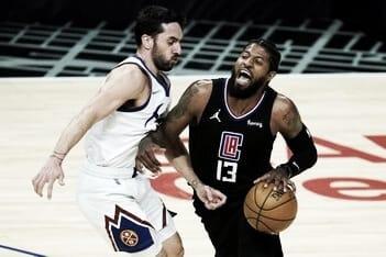 Denver ganó un partido clave frente a LA Clippers y se posiciona en la tabla de arriba