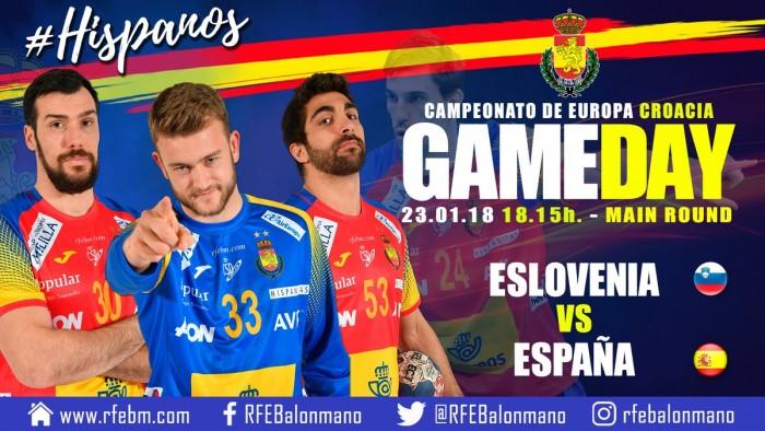 Resumen Eslovenia vs España en EHF Euro 2018 (31-26)