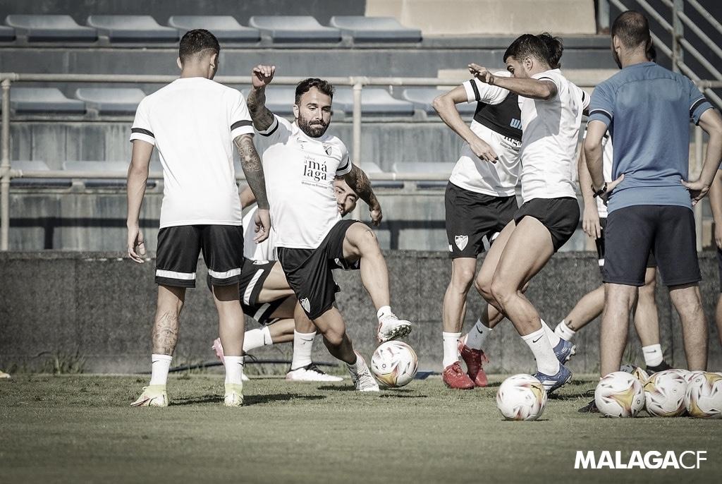 Una nueva semana en el Málaga tras la dura derrota