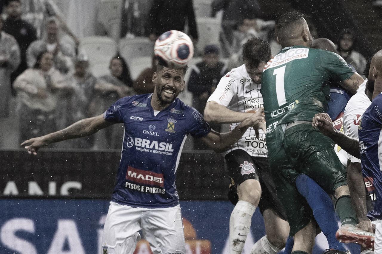 Com gol nos acréscimos, Corinthians empata com Santo André pelo Paulistão