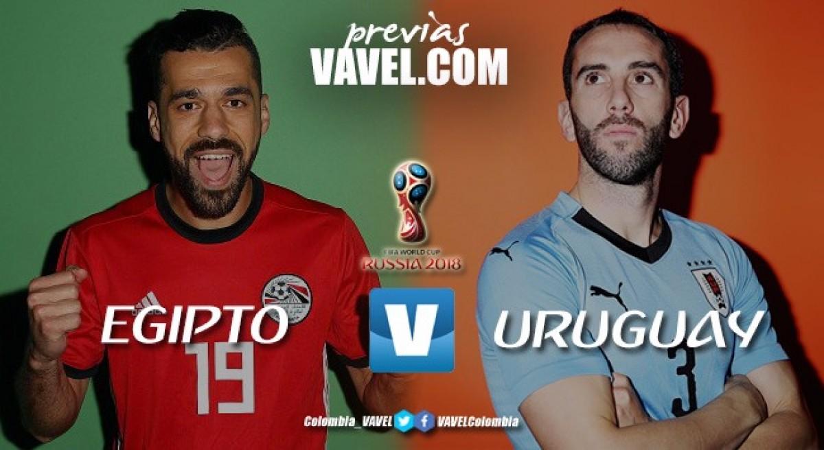 Egipto - Uruguay: El duelo de 'Faraones' contra 'Charrúas'