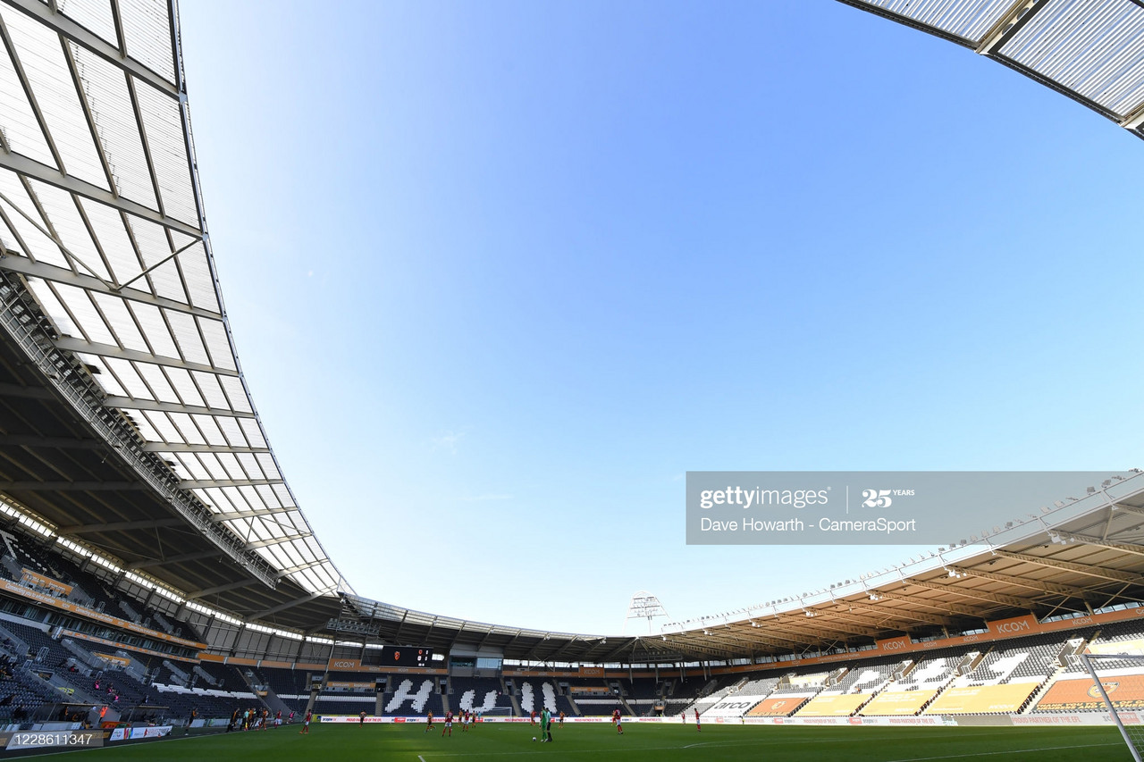 Above: The KCOM Stadium&nbsp;<div>Photo: Dave Haworth - CameraSport/Getty Images</div>