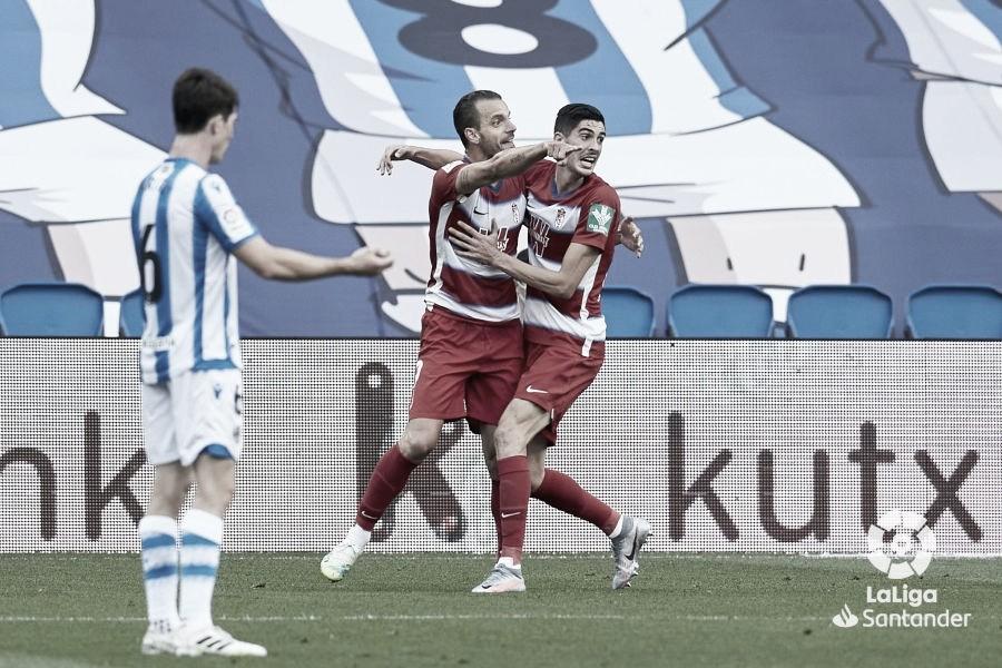 Análisis del rival: el Granada, a tres puestos de Europa