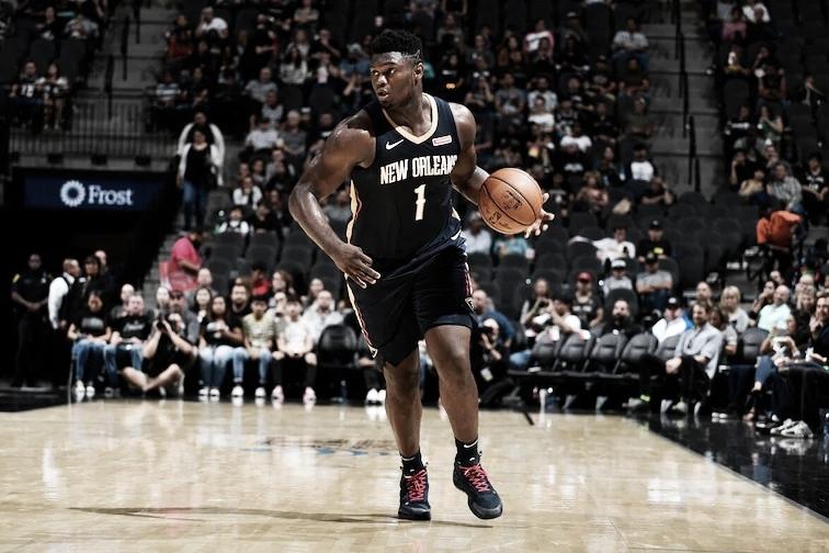 New Orleans Pelicans espera volta de Zion Williamson em janeiro