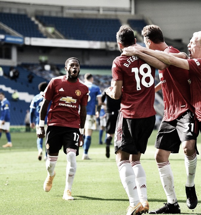 Solskjaer atrela vitória do Manchester United sobre Brighton a 'espírito guerreiro'