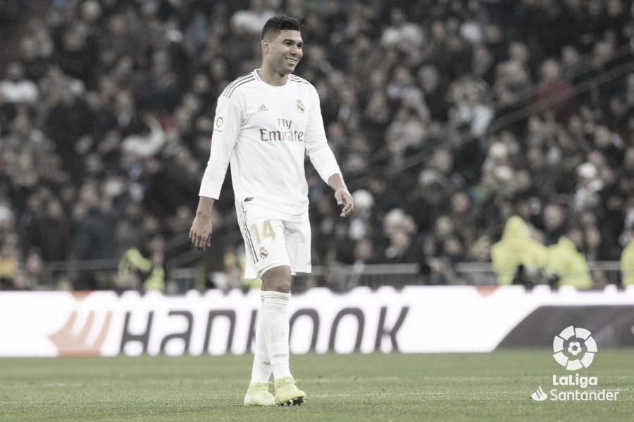 Casemiro, jugador con más recuperaciones en LaLiga Santander 19/20