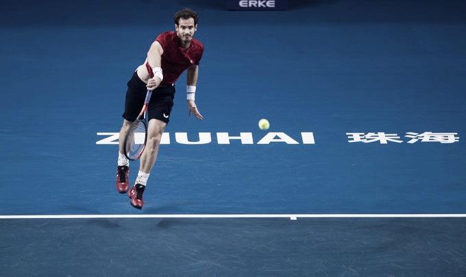 Em Zhuhai, Murray bate Sandgren e conquista primeira vitória em simples nível ATP desde a cirurgia