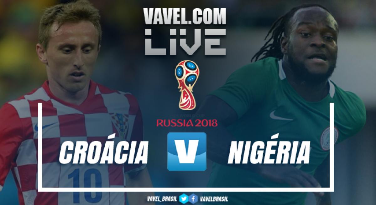 127f763e3f Resultado Croácia x Nigéria na Copa do Mundo 2018 (2-0) - VAVEL.com