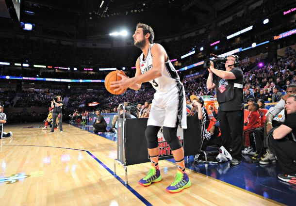 Belinelli trionfa nel Three Point Contest