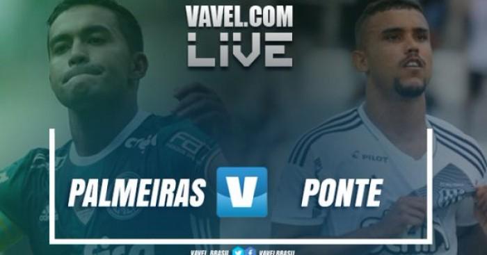 Resultado e Gols jogo Palmeiras 1x0 Ponte Preta no Campeonato Paulista 2017