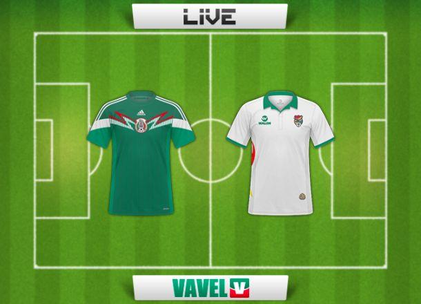 Resultado México - Bolivia (1-0)