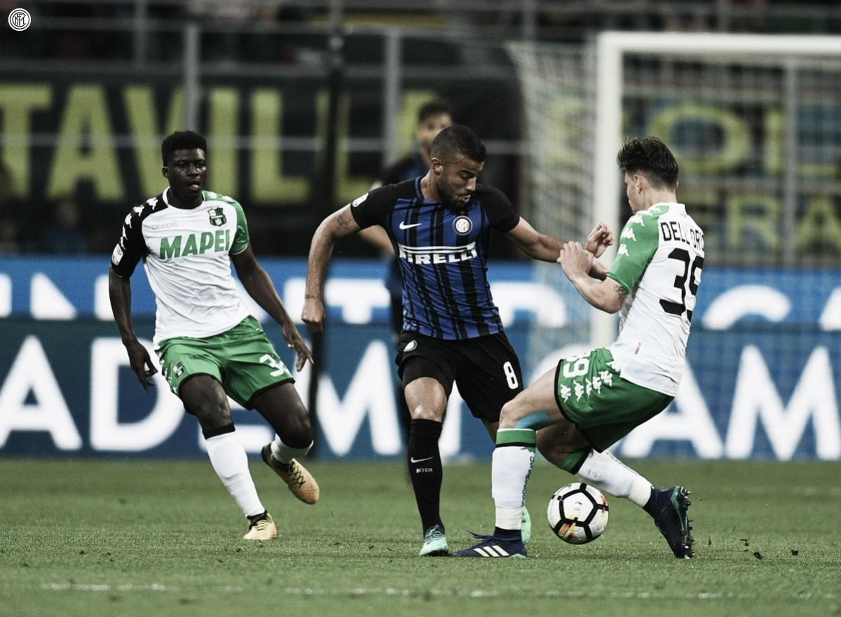 Internazionale perde em casa para Sassuolo e se complica na briga por Champions League
