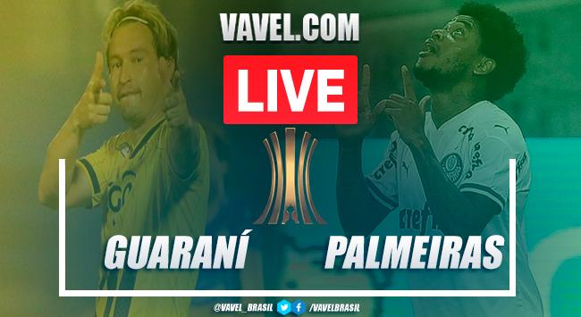 Guaraní x Palmeiras AO VIVO: jogo em tempo real pela Libertadores 2020
