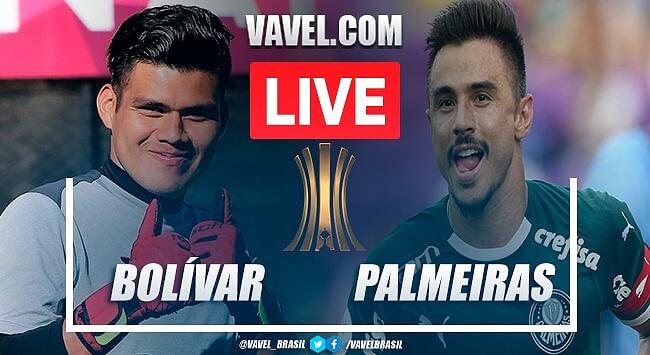 Palmeiras derrota Bolívar em La Paz e segue 100% na Libertadores
