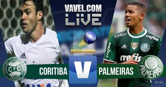 Resultado Coritiba x Palmeiras no Campeonato Brasileiro Série A 2016 (2-2)