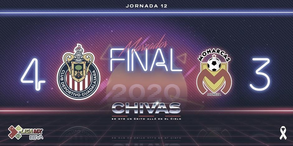 Chivas le da la vuelta a Monarcas y se mete a zona de Liguilla