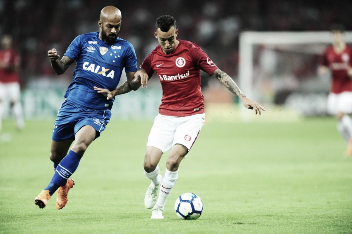 Cruzeiro recebe o Internacional pelo Brasileiro e espera espantar má fase no Mineirão
