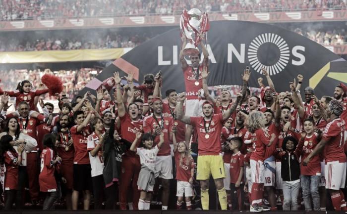 Portogallo: il Benfica di Rui Vitoria si laurea campione per la 35^ volta nella sua storia
