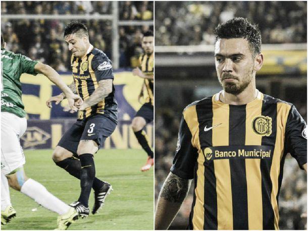 La palabra de Álvarez y Dominguez tras el empate con Sarmiento