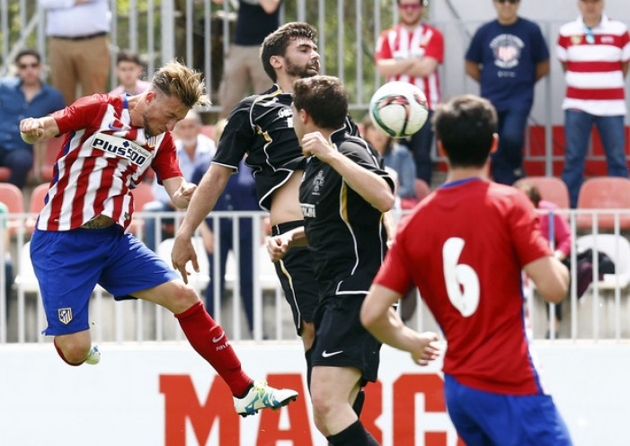 El Almagro CF toma ventaja ante un pobre Atlético de Madrid B