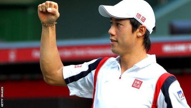 Kei Nishikori y cómo le fue contra el resto