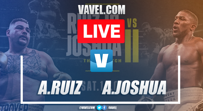 Resumen Completo: Andy Ruíz vs Anthony Joshua II
