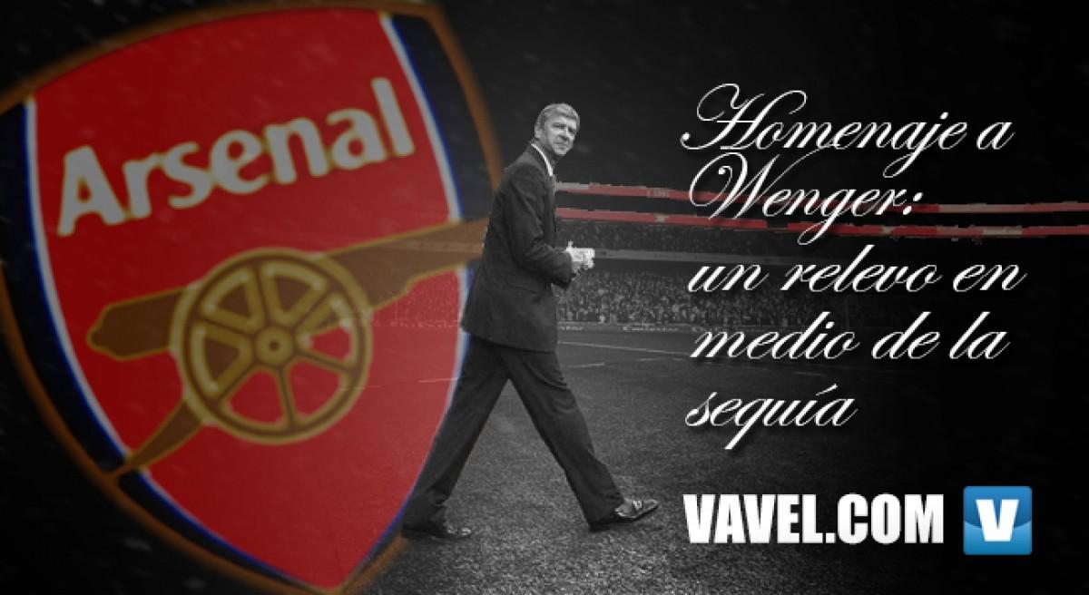 Homenaje a Wenger: un relevo en medio de la sequía