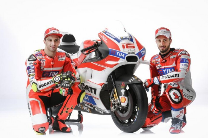 Presentata la nuova Ducati Desmosedici GP