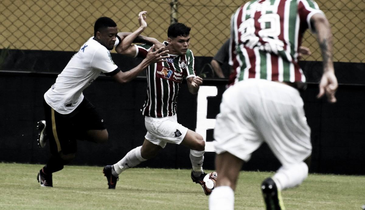 Notas:Ayrton se destaca em vitoria sem brilho do Fluminense contra Volta Redonda