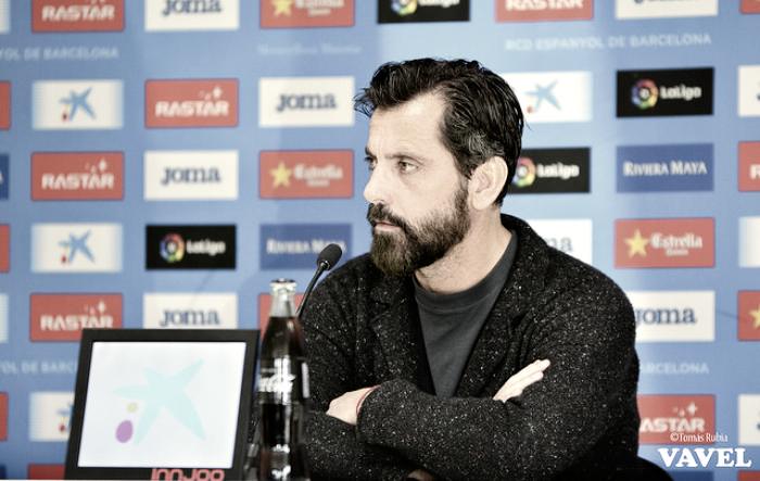 """Quique Sánchez Flores: """"No estamos satisfechos, pero valoramos el punto"""""""