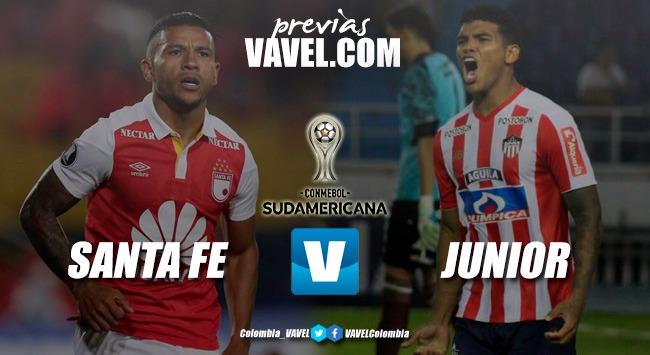 Previa: Santa Fe vs. Junior Comienza la lucha por un cupo a la final Sudamericana