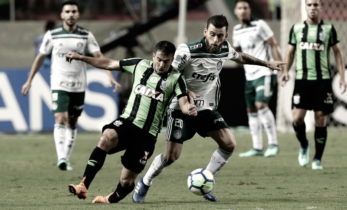 Com vantagem do empate, Palmeiras recebe América-MG pela oitavas da Copa do Brasil
