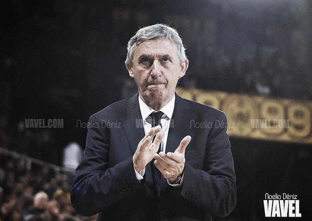 Svetislav Pesic y Kevin Pangos analizaron el partido ante Anadolu Efes