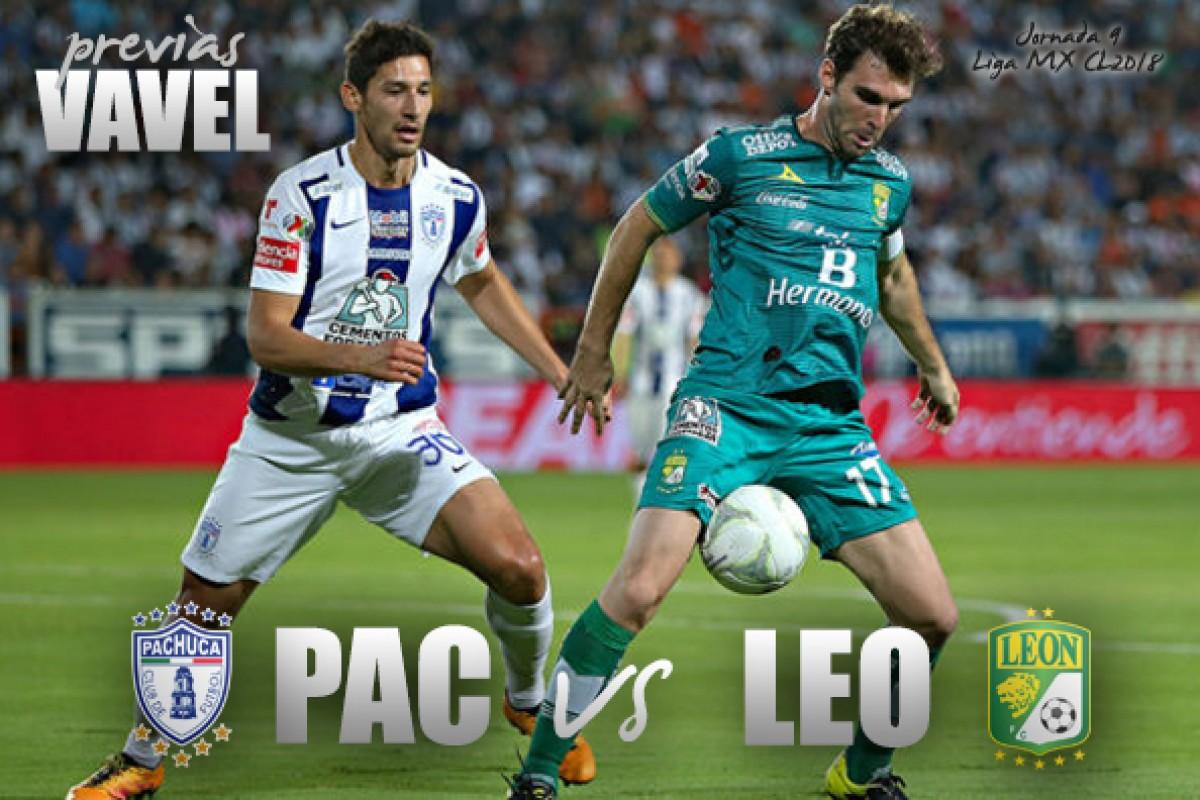 Previa Pachuca vs León: A imponer la localía