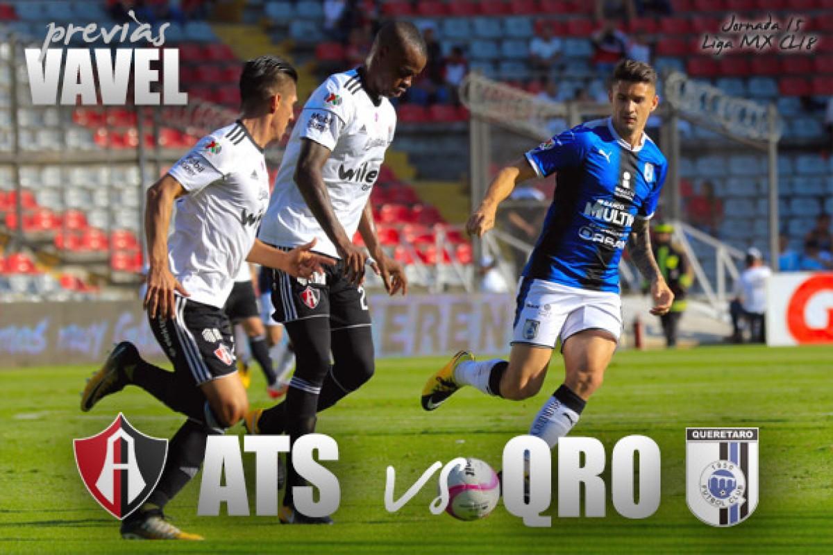 Previa Atlas - Querétaro: salvación al alcance de una victoria