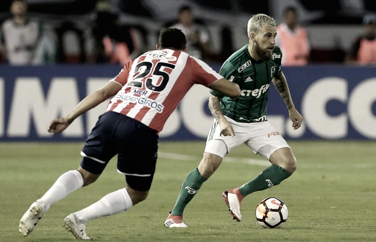 Resultado Palmeiras 3x1 Junior Barranquilla pela Copa Libertadores 2018