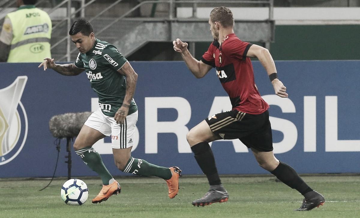 Em segundo tempo movimentado, Magrão defende pênalti e Sport supera Palmeiras de virada