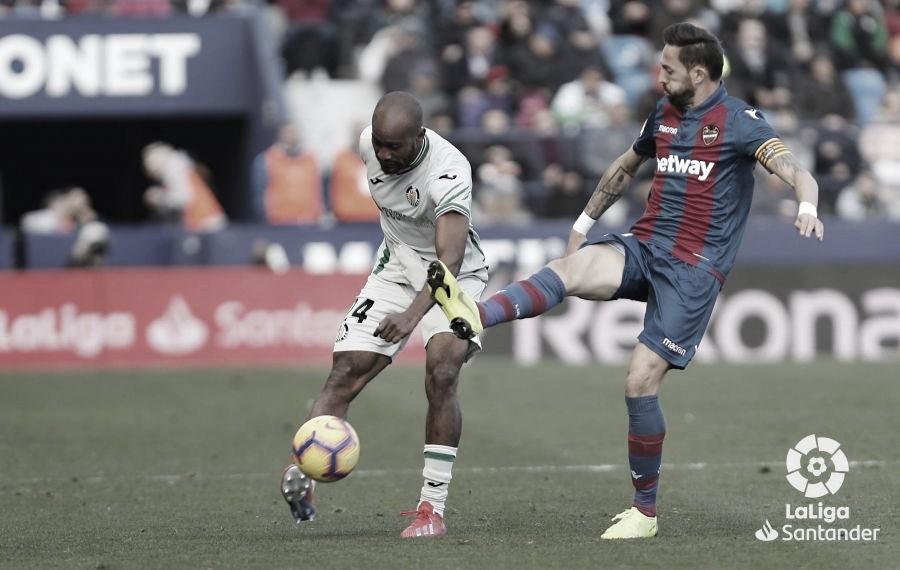 Levante vs. Getafe en VIVO y en directo online LaLiga Santander (1-0)