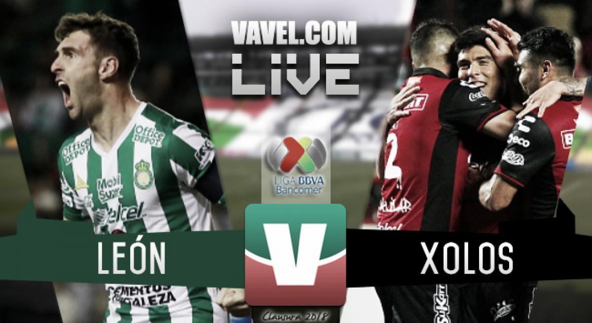 Resultado y goles del León 1-1 Xolos en Liga MX 2018