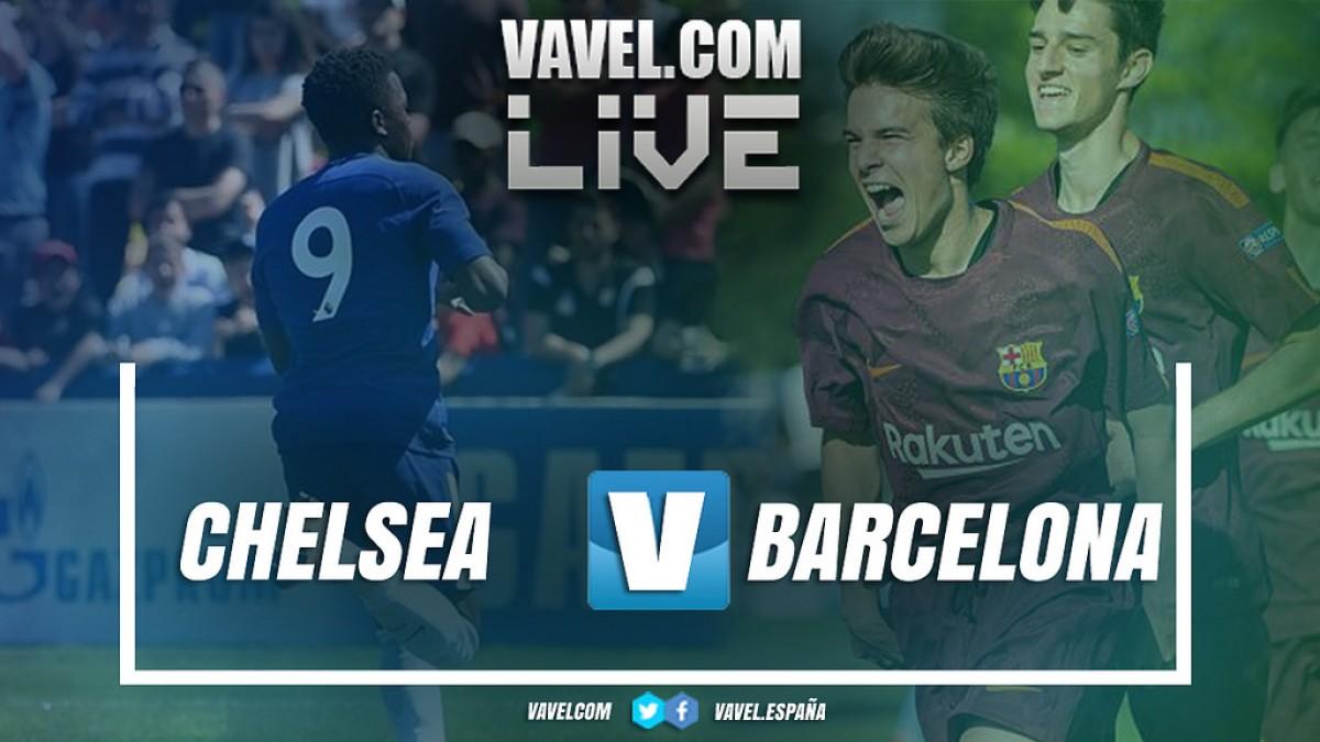 Resumen Chelsea 0-3 FC Barcelona en la final de la UEFA Youth League 2018