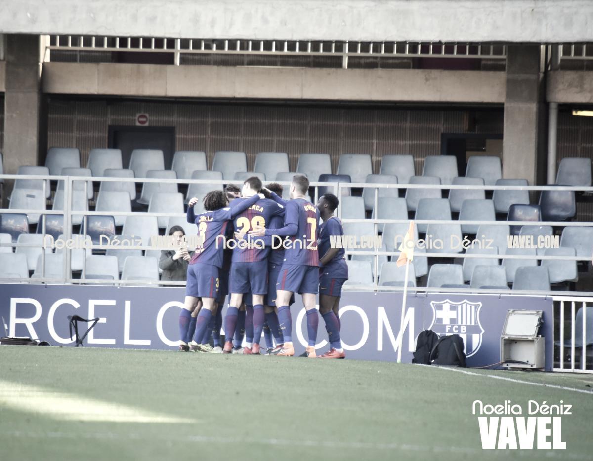 FC Barcelona B vs Osasuna en vivo y en directo online en LaLiga 1|2|3