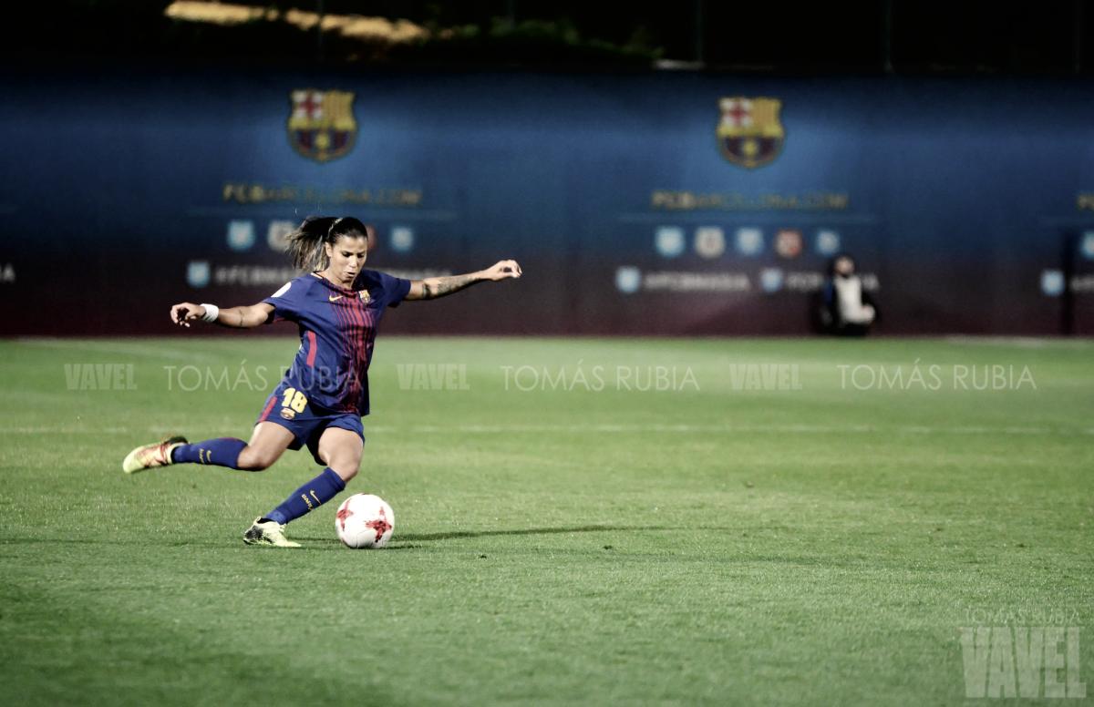 Fabiana vuelve a Barcelona con una lesión en la rodilla