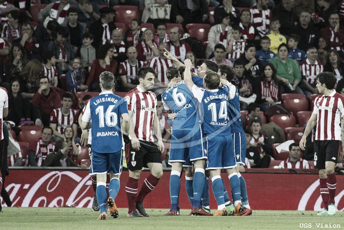 Athletic Club - Deportivo de La Coruña: puntuaciones Athletic Club jornada 32 de la Liga Santander