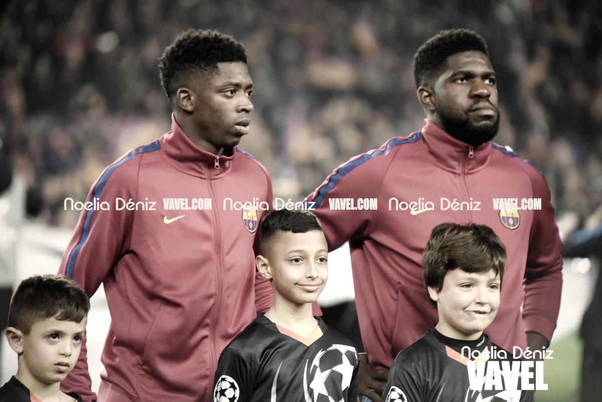 Dembélé y Umtiti, al Mundial con Francia
