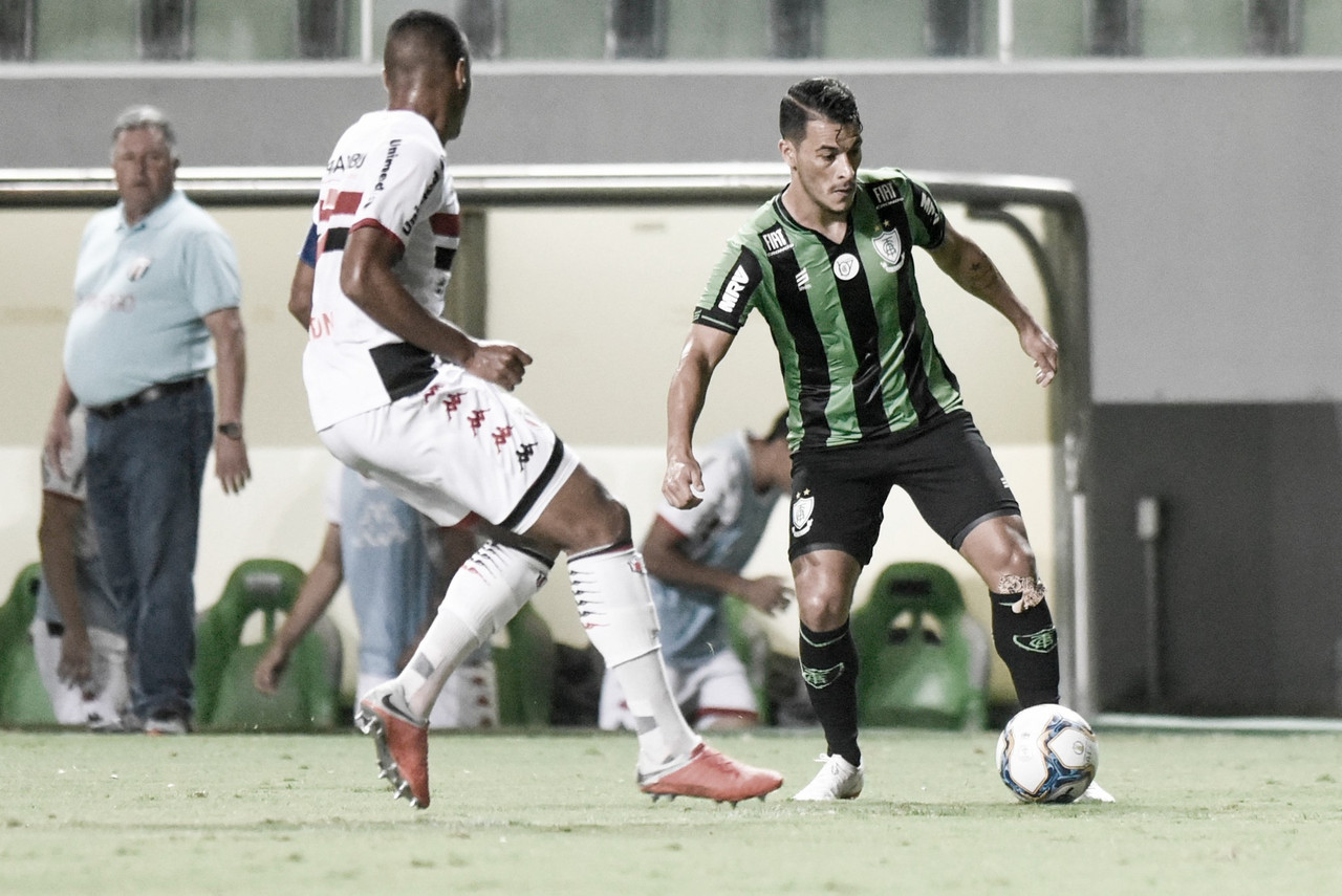 América-MG perde para o Botafogo-SP e emplaca sua segunda derrota na Série B