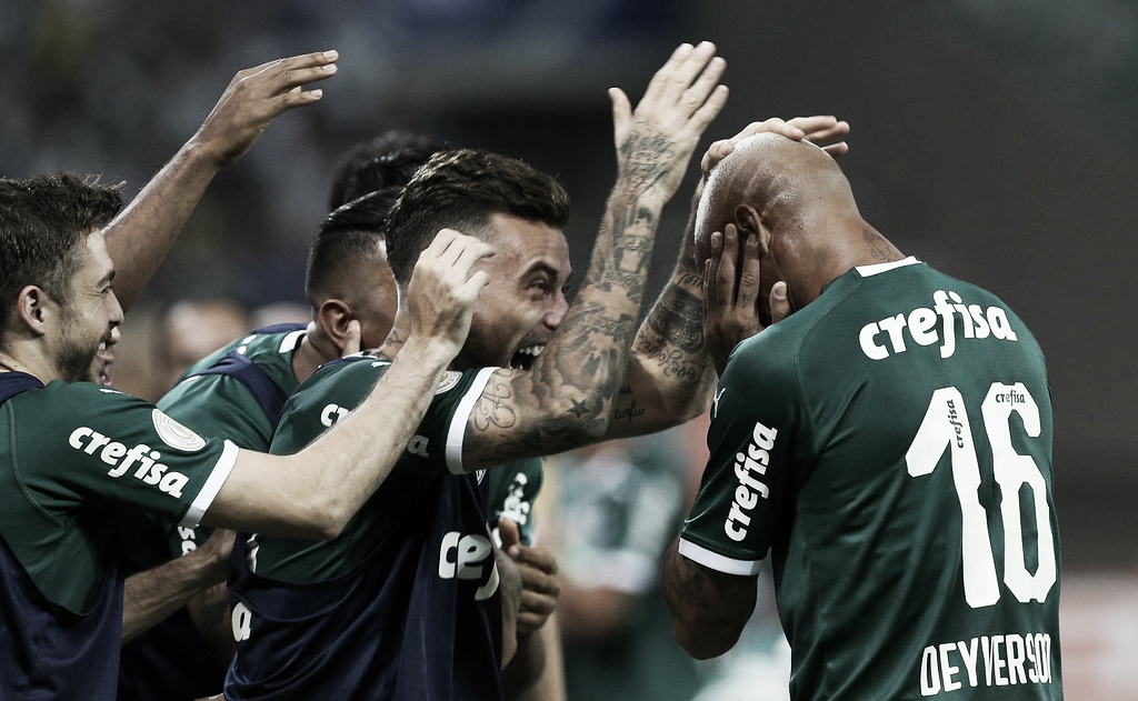 Palmeiras vence o Internacional e assume liderança provisória do Campeonato Brasileiro