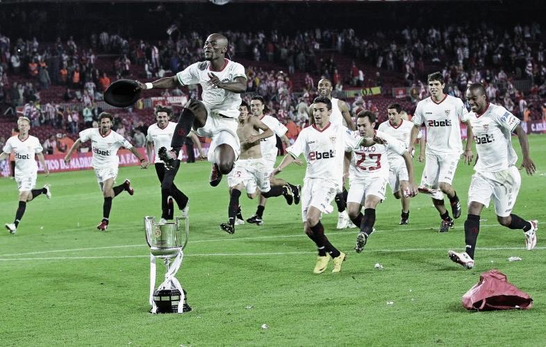 Se cumplen 10 de la quinta Copa del Rey del Sevilla FC