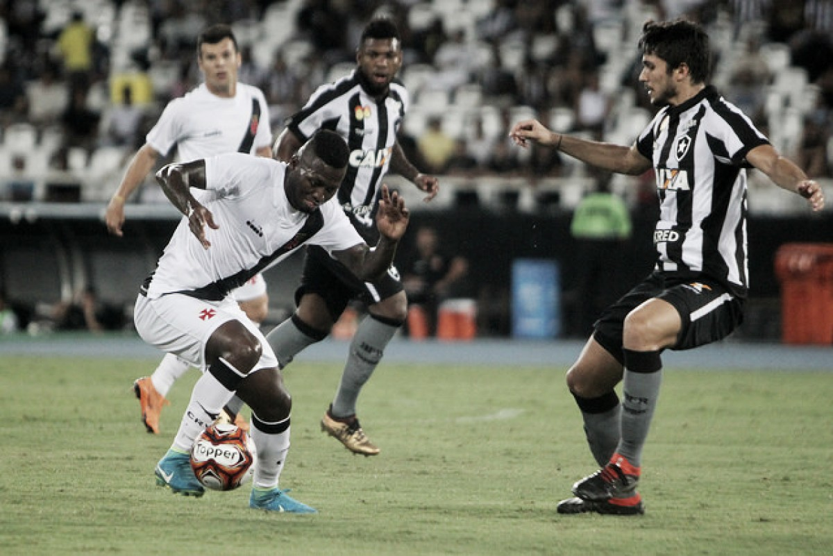 No Nilton Santos, Botafogo recebe Vasco no primeiro jogo da final do Carioca