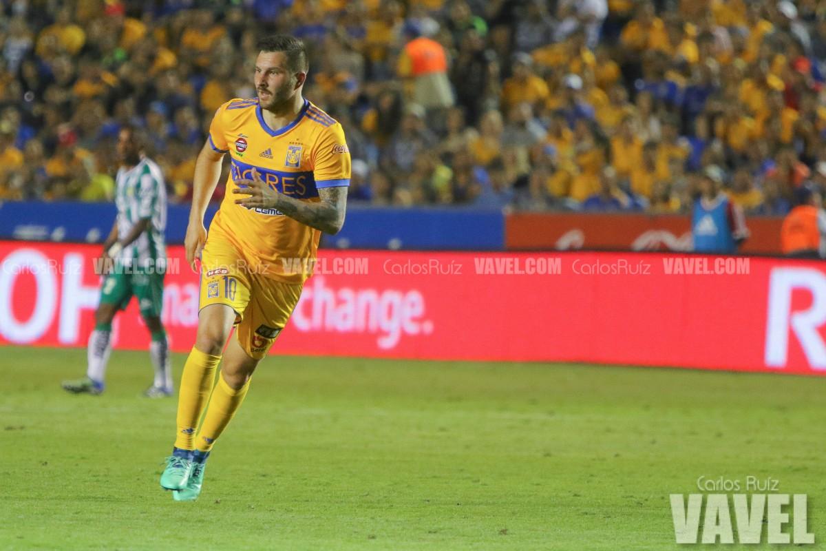 Gignac superó a Gaitán como segundo goleador de Tigres